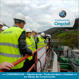 Conferencia Cingcivil Planificacion, Productividad y Calidad en Obras de Construccion